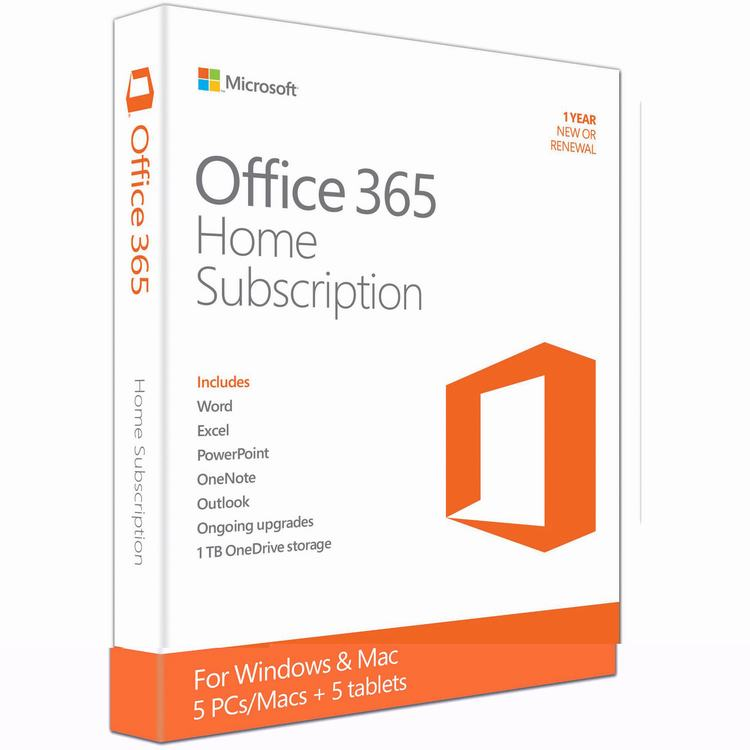 Office Home ENGLISH 365 ( 6GQ- 00757)