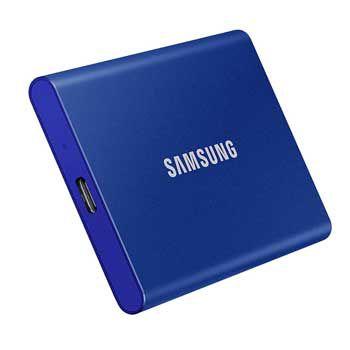 2TB Samsung T7 Portable - (MU-PC2T0H - MÀU XANH) - EXTERNAL