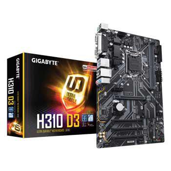 GIGABYTE H310 D3 (sk 1151)
