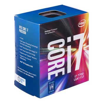 Intel Kaby lake i7 7700(3.6GHz) up to 4.2Ghz - Chỉ hỗ trợ Windows 10