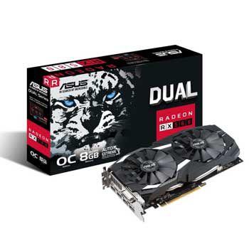 8GB ASUS DUAL-RX580-O8G