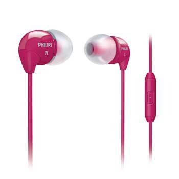 HEADPHONE PHILIPS SHE3595PK (Hồng)