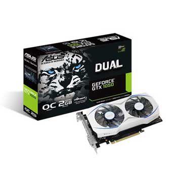 2GB ASUS DUAL-GTX1050-O2G (DUAL FAN)