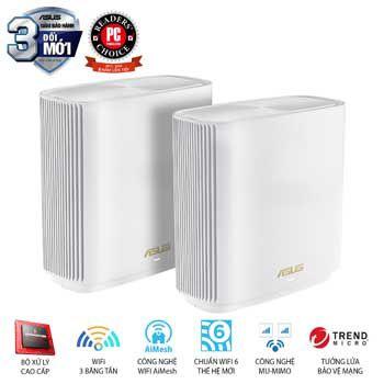 Thiết bị phát Wifi ASUS ZenWiFi Router XT8 (W-2-PK)