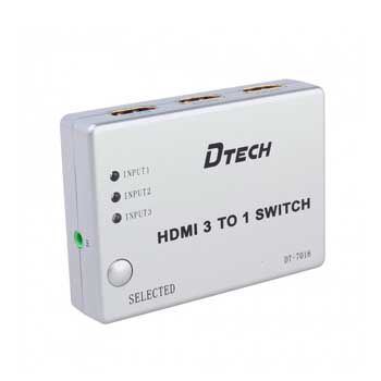SWITCH HDMI 3-1 DTECH DT-7018