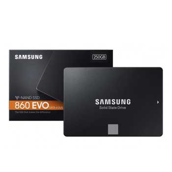 250Gb Samsung SSD 860 EVO (MZ-76E250BW/KR)