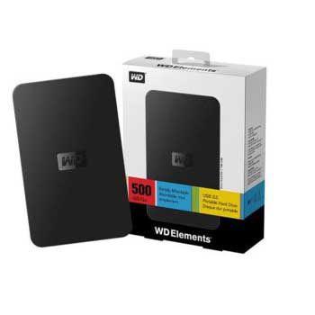 500GB WESTERN Elements(USB 3.0)