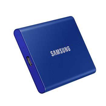1TB Samsung T7 Portable - (MU-PC1T0H - MÀU XANH) - EXTERNAL