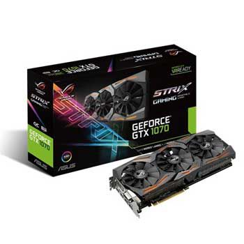 8GB ASUS ROG STRIX GTX1070-O8G-Gaming
