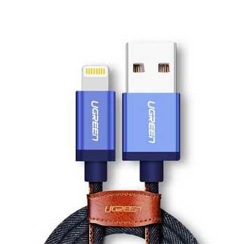 CABLE Sạc USB Lightning Chuẩn MFi Ugreen 40341 (dài 1.5M )