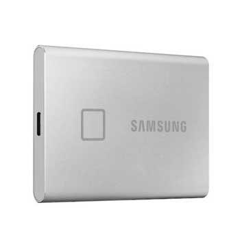 1TB Samsung T7 Touch - (MU-PC1T0S/WW- MÀU Silver ) - EXTERNAL