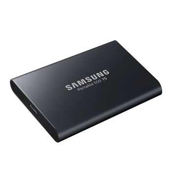 250GB Samsung T5 Portable - (MU-PA250B/WW - MÀU ĐEN) - EXTERNAL