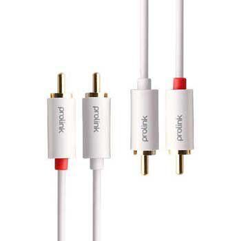 Cáp nối âm thanh 2 RCA - 2 RCA PROLINK MP101