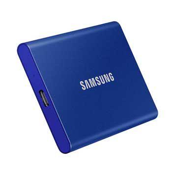 500GB Samsung T7 Touch - (MU-PC500H/WW- MÀU xanh ) - EXTERNAL