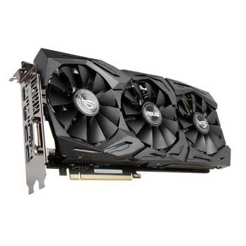 8GB ASUS ROG STRIX GTX1070-O8G-Gaming (3 Fan)
