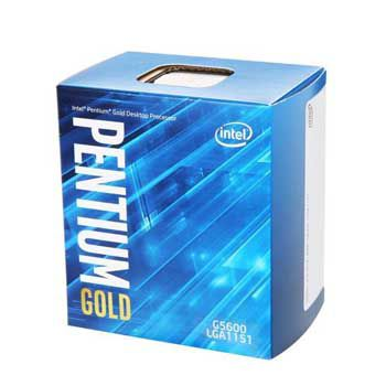 Intel Coffee lake Pentium Gold G5600(3.9GHz) Chỉ hỗ trợ Windows 10