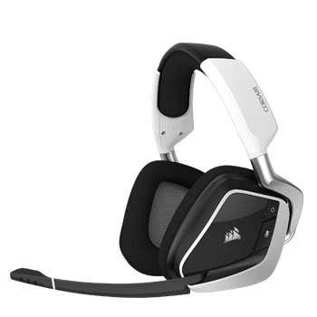 HEADPHONE Cosair PRO RGB Wireless White (không dây)
