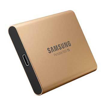 500GB Samsung T5 Portable - (MU-PA500G - MÀU VÀNG) - EXTERNAL