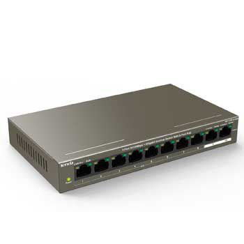 Switch Tenda TEF1110P 8-Port 10/100Mbps PoE + 2 Gigabit
