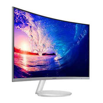 """LCD 27"""" SAMSUNG LC27F581FDEXXV (Full Viền)(Trắng)"""
