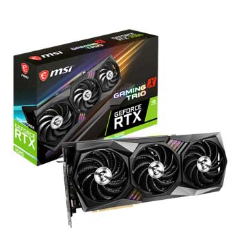 10GB MSI GeForce RTX 3080 GAMING X TRIO 10G