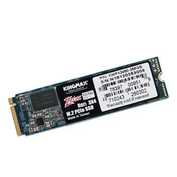 256GB KINGMAX PJ3280 Zeus (M.2, PCIe Gen3 x2)