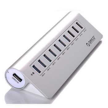 HUB USB 1–10 PORT ORICO M3H73P