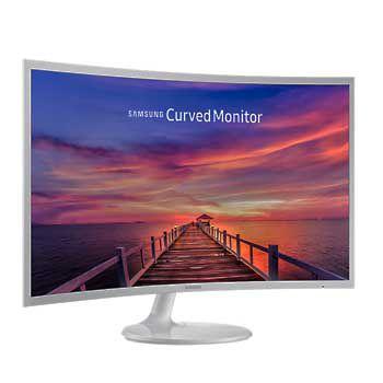 """LCD 32"""" SAMSUNG LC32F391FWEXXV (Curved) (MÀU TRẮNG)"""