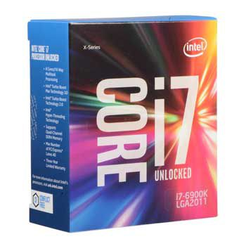 Intel Core i7 6900K(3.2GHz)