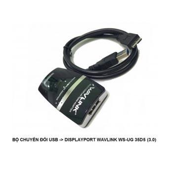 BỘ CHUYỂN ĐỔI USB Micro-B Ra -> Displayport WAVLINK (WS-UG 35DP5)