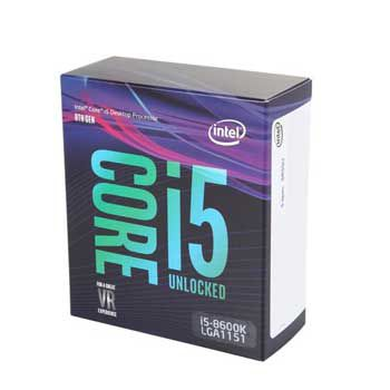 Intel Coffee lake i5 8600K(3.6GHz) Chỉ hỗ trợ Windows 10