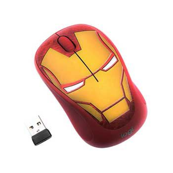 LOGITECH WIRELESS M238 MARVEL ĐỎ-XANH (CAPTAIN MARVEL)