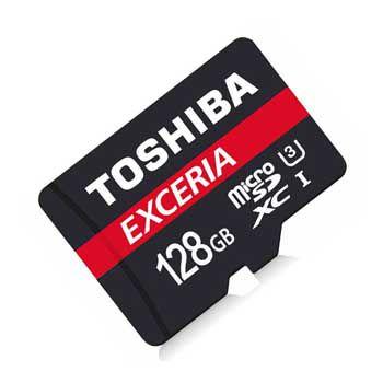MICRO-SD 128GB TOSHIBA Retail, Class 10 THN-M302R1280A2