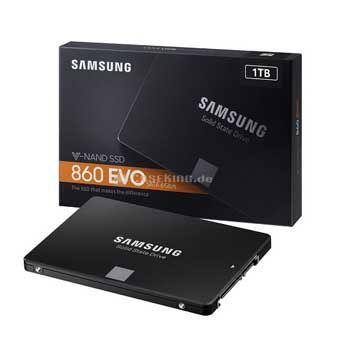 1Tb Samsung SSD 860 EVO(MZ-76E1T0BW