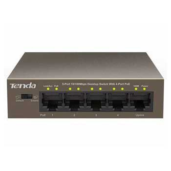 Switch Poe 5 Port Tenda TEF1105P