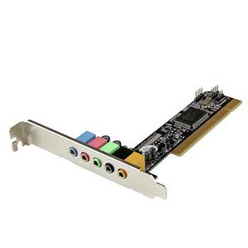 Sound card 5.1 (PCI)