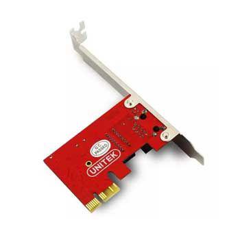 CARD PCI 1X->LAN UNITEK (Y-7509)