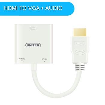 CABLE HDMI - VGA +AV UNITEK 6333