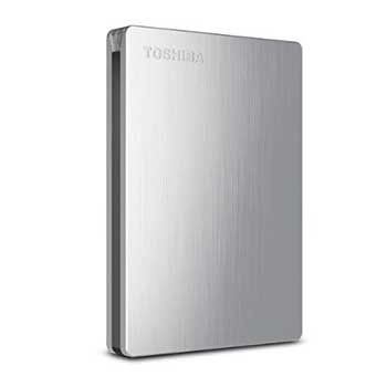 2TB Toshiba Canvio Slim