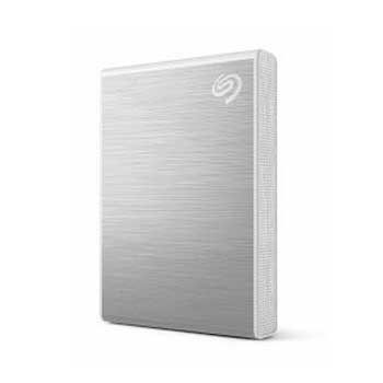 2TB SSD Seagate One Touch USB-C + Rescue STKG2000401 (Bạc)