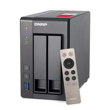 Hộp ổ cứng mạng QNAP TS-251+-2G (Không bao gồm ổ cứng)
