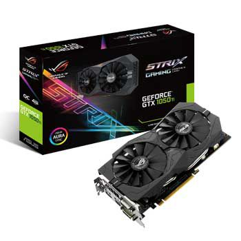4GB ASUS STRIX-GTX1050TI-O4G-GAMING (DUAL FAN)