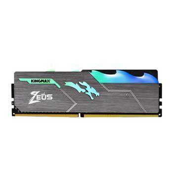 8GB DDRAM 4 3000 KINGMAX HEATSINK Zeus RGB (Tản nhiệt có đèn led)