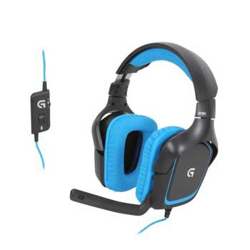 HEADPHONE LOGITECH G430 (co mic) Dành cho GAME