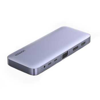 HUB USB Type-C 11 in 1 Ugreen 70305 (USB C to HDMI/ Displayport / VGA/ USB 3.0/ Card Reader )