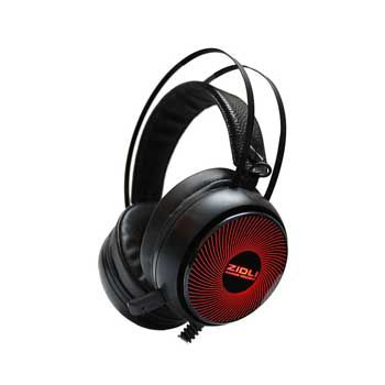 HEADPHONE Gaming ZIDLI ZH12S (Sound 7.1, Led Rainbow) - Short Mic