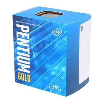 Intel Coffee lake Pentium Gold G5400(3.7GHz)     Chỉ hỗ trợ Windows 10