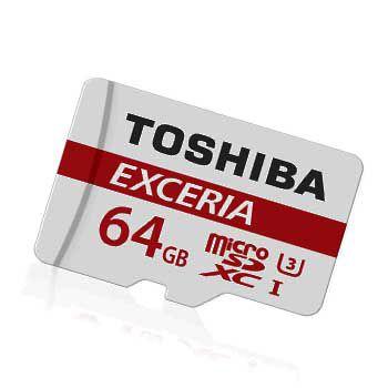 MICRO-SD 64GB TOSHIBA Retail, Class 10