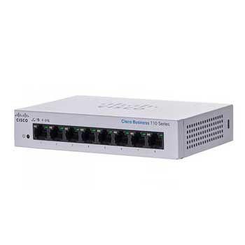 Switch Cisco CBS110-8T-D-EU