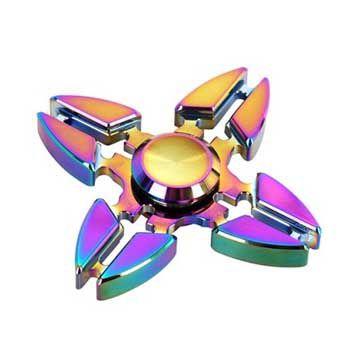 Con Quay Fidget Spinner Sakura 4 Cánh Cao Cấp
